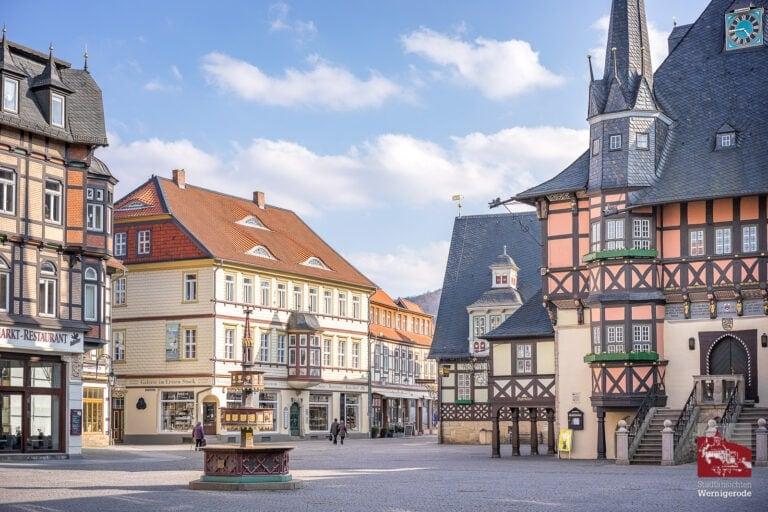 Marktplatz und Rathaus Wernigerode, 2020
