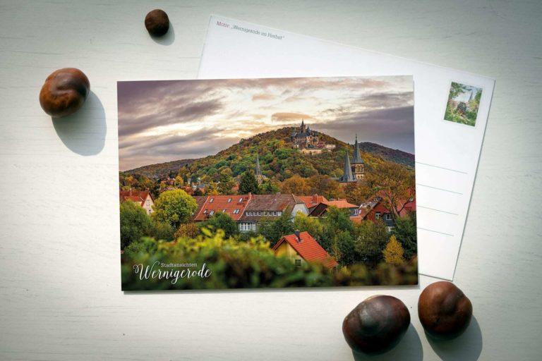Postkarte Wernigerode im Harz